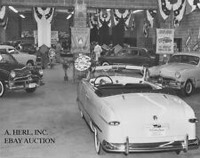 Ford 1949 Ford Galaxie Coupe – photograph photo auto show 1950 introduction