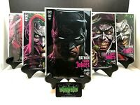 BATMAN: THREE JOKERS #1 SET OF 5 MAIN COVER + 4 PREMIUM VARIANTS NM + CARD