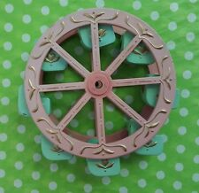 "Ferris wheel Parts Pink & Mint Green 4.5""Toy/Music box Wheel~Free Shipping !"