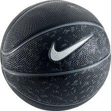 NEW Nike Swoosh Mini Basketball - - Outdoor Ball - Black/Grey/White Mini Size 3