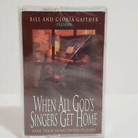 Bill Gloria Gaither When All Gods Singers Get Home Cassette Tape Music Vintage