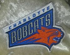 "Charlotte Bobcats Retro 3.5"" Iron On Embroidered Patch~USA~FREE Ship"