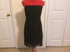 Jump Apparel Strapless Party Dress - Black - Size 9/10 (Juniors) - NWT