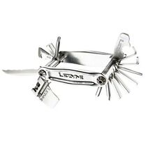 Lezyne Stainless Steel STL-20 Bit CNC Machined Multi Tool-Silver-Cycling-New