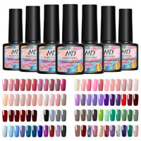 5 Bottles 8ml MAD DOLL Sequins UV Gel Nail Polish Soak Off Nail Art Varnish Tips