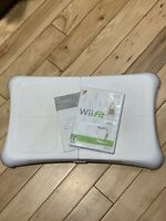 Nintendo Wii Fit Balance Board Bundle with Wii Fit