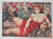 REMO SQUILLANTINI - LITOGRAFIA 50x70