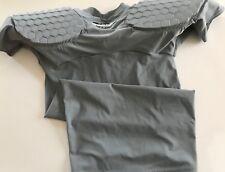 New McDavid 7866T Dual Density Football Hexpad Shell Shirt, Men's Small