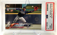 2018 Topps Update Ronald Acuna Jr. ROOKIE CARD  GEM MINT PSA 10