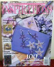 # 41 INSPIRATIONS EMBROIDERY MAGAZINE   2004 OOP AUSTRALIAN RARE ISSUE
