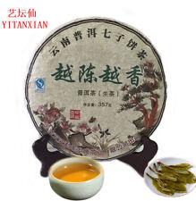 Organic 357g Chinese Yunnan Raw Pu-erh Tea Cake puer tea ancient Pu'Er Tea