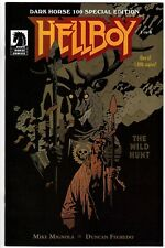 Hellboy The Wild Hunt #1 Dark Horse 100 variant cover 1000 copies made VF+ NEW