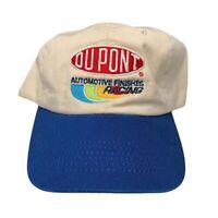 Vintage 90s Y2K Jeff Gordon Dupont Motorsports Nascar Racing Snapback Chase Tan