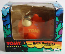 Amazing Vintage 90'S Tomy First Fun Bath Buddies Fish Squeeze Crazy Eyes New !