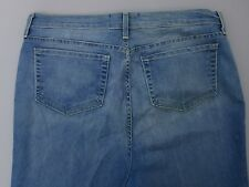 NYDJ Not Your Daughter's Jeans Women's Cuffed Ankle Distessed Size 14