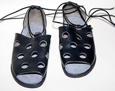 berkemann ☺ Schuhe ☺ Sandalen ☺ Römerstil☺  Gr. 4 / 37 *NEU*  Leder ☺  schwarz