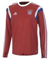 Adidas Herren FC Bayern München Trainings Top , Rot , XL , Neu