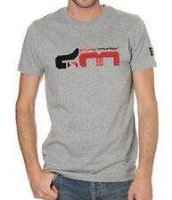 DRUNKNMUNKY urban streetwear grey graphic t-shirt maglietta uomo grigia S BNWT