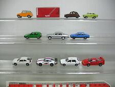 AJ389-0,5# 10x Herpa H0 PKW-Modell: Porsche+Jaguar+Citroen+Trabant+VW+Opel etc