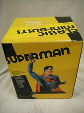 DC COMICS CLASSIC SUPERMAN BUST MIB! JLA STATUE JUSTICE LEAGUE Supergirl