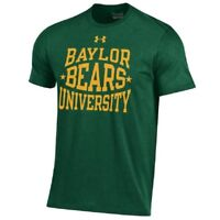 Under Armour NCAA Baylor Bears Men's Charged Cotton Performance Tee