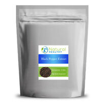 30 Black Pepper Extract VEGAN Tablets - UK Made - High Quality Supplement