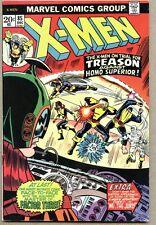 X-Men #85-1973 fn- X Men Ross Andru Factor Three Blob Unus