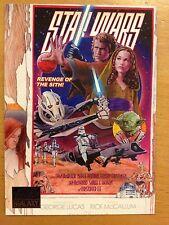 Topps 2012 Star Wars Galaxy Series 7 #99 Revenge of the Tribute Art MINT