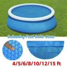 Round Pool Cover Protector Intex 4~15 ft Foot Above Ground Blue Protection US