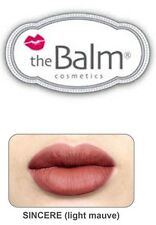 The Balm Cosmetics -Meet Matte Hughes Long Lasting Liquid Lipstick - SINCERE