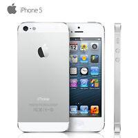 Apple iPhone 5 16GB 32GB 64GB GSM Unlocked Smartphone 4G LTE Black & White AT&T