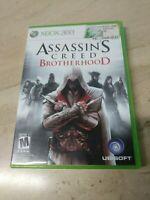Assassin's Creed Brotherhood Microsoft Xbox 360 Ubisoft