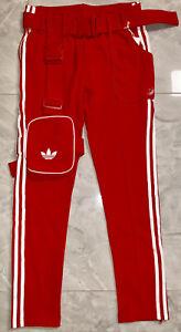 NWT Adidas Original JI WON CHOI X OLIVIA OBLANC SST TRACK PANTS - Medium GL6123