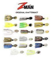 Z-Man Original ChatterBait, 3/8 oz, Choice of Colors