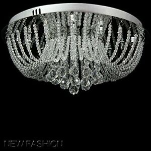 Modern Luxurious LED Crystal Chandelier