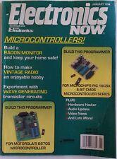 Electronics Now Magazine January 1994 Microcontrollers, Build a Radon Monitor