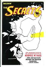 THE SECRET SIX, new US Smilodon pulp hero trade pb  based on Norvell Page SAMPLE