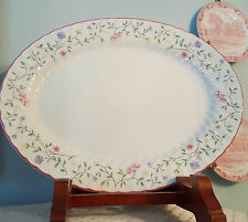 "JOHNSON BROTHERS SUMMER CHINTZ LG OVAL PLATTER 15.5"" x 12"", England, Mint Cond."