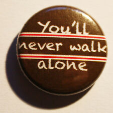 You 'll never walk alone BUTTON BADGE Sankt/St. Pauli Punk Antifa derby vincitore