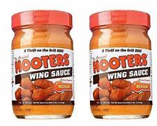 Hooters Wing Sauce, Medium, 12 oz (2 Pack)