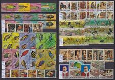 (900) Burundi 1967/1977 Nice Lot of 109 used stamps on Full sets - VF Very Fine