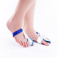 2 Big Toe Straightener Bunion Hallux Valgus Corrector Night Splint Pain Relief