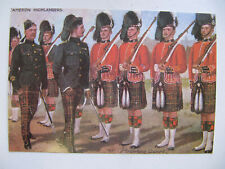 Cameron Highlanders (79th) - Harry Payne Reproduction Miltary Postcard No.53