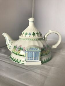 Vintage 1994 Lenox English Garden Teapot Collection The Conservatory