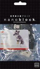 Schnauzer Nanoblock Miniature Building Blocks New Sealed Pk NBC 120