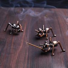 ant copper incense burner holder plate stick cones home decor decorations v!