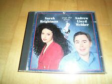 Sarah Brightman sings the music of Andrew Lloyd Webber CD (Made in Japan)