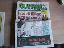 GUERIN SPORTIVO=N°43 2001=Milan-Campagna Pubblicità Progresso Giuliano