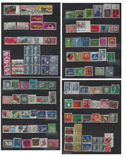 Germany 1000+ Stamps 1878 to 1950's SAXONY,BAVARIA,BERLIN,R P,GDR,D R,DANZIG,OFF