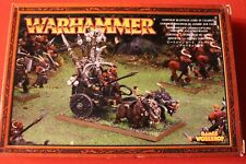 Games Workshop Warhammer Gorthor Beastman Lord on in Chariot Metal New NIB OOP